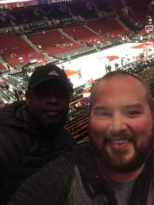 Joshua attended Portland Trail Blazers vs. Orlando Magic - NBA on Nov 28th 2018 via VetTix