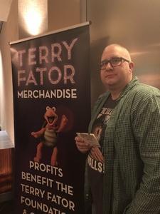 christian attended Terry Fator on Nov 30th 2018 via VetTix