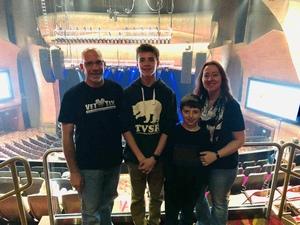 Matthew attended Terry Fator on Nov 30th 2018 via VetTix