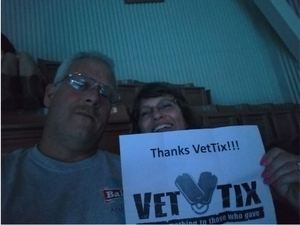 Kevin attended Terry Fator on Nov 30th 2018 via VetTix