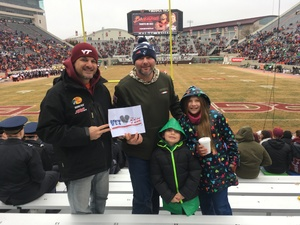 Steven attended Virginia Tech Hokies vs. Marshall University Thundering Herd - NCAA Football on Dec 1st 2018 via VetTix