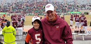 Frank Tarr attended Virginia Tech Hokies vs. Marshall University Thundering Herd - NCAA Football on Dec 1st 2018 via VetTix