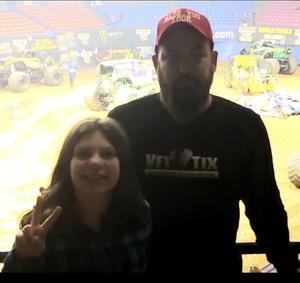 Brian attended Monster Jam Triple Threat Series on Feb 1st 2019 via VetTix