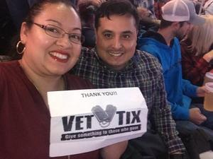 Raul attended Chris Young: Losing Sleep World Tour 2018 - Country on Dec 1st 2018 via VetTix