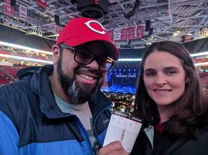 Joshua attended Chris Young: Losing Sleep World Tour 2018 - Country on Dec 1st 2018 via VetTix