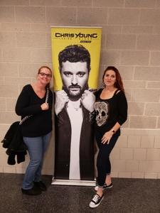 Connie attended Chris Young: Losing Sleep World Tour 2018 - Country on Dec 1st 2018 via VetTix