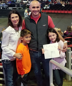 mat attended Chris Young: Losing Sleep World Tour 2018 - Country on Dec 1st 2018 via VetTix