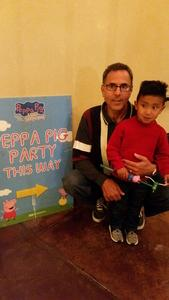 James attended Peppa Pig Live! on Dec 12th 2018 via VetTix
