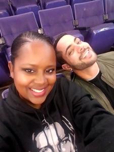Yanti attended Phoenix Suns vs. Orlando Magic - NBA on Nov 30th 2018 via VetTix