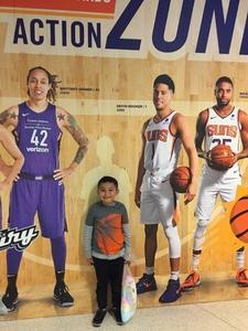 Carmelo attended Phoenix Suns vs. Orlando Magic - NBA on Nov 30th 2018 via VetTix