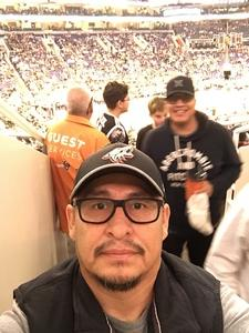 Marvin attended Phoenix Suns vs. Orlando Magic - NBA on Nov 30th 2018 via VetTix