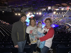 Brian attended Disney on Ice Presents Mickey's Search Party on Jan 24th 2019 via VetTix