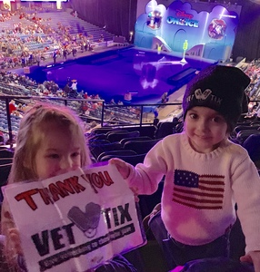 Jeremy attended Disney on Ice Presents Mickey's Search Party on Jan 24th 2019 via VetTix