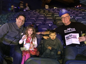 Paul attended Disney on Ice Presents Mickey's Search Party on Jan 24th 2019 via VetTix