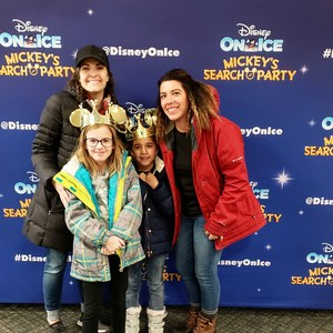 Mary attended Disney on Ice Presents Mickey's Search Party on Jan 24th 2019 via VetTix
