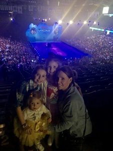 Rachel attended Disney on Ice Presents Mickey's Search Party on Jan 24th 2019 via VetTix