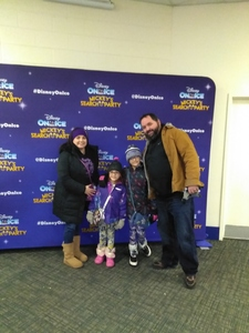 Sean attended Disney on Ice Presents Mickey's Search Party on Jan 24th 2019 via VetTix