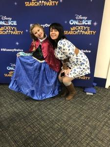 Webs19 attended Disney on Ice Presents Mickey's Search Party on Jan 24th 2019 via VetTix