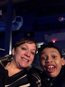 Kelly attended Disney on Ice Presents Mickey's Search Party on Jan 24th 2019 via VetTix
