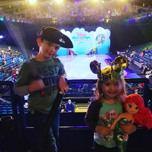 Justin attended Disney on Ice Presents Mickey's Search Party on Jan 24th 2019 via VetTix