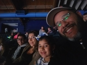Ullisses attended Disney on Ice Presents Mickey's Search Party on Jan 24th 2019 via VetTix