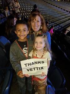 Lynn attended Disney on Ice Presents Mickey's Search Party on Jan 24th 2019 via VetTix