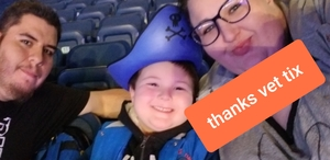 The NeSmiths attended Disney on Ice Presents Mickey's Search Party on Jan 24th 2019 via VetTix