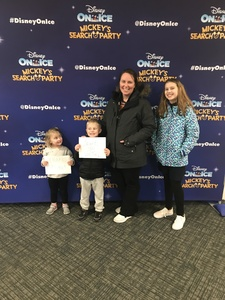 Chantel attended Disney on Ice Presents Mickey's Search Party on Feb 7th 2019 via VetTix