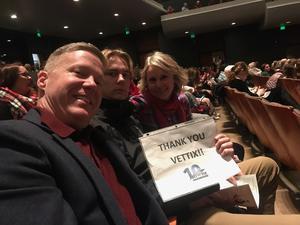 Jeff attended A Colorado Nutcracker Performed by Colorado Ballet Society - Saturday Matinee on Dec 22nd 2018 via VetTix