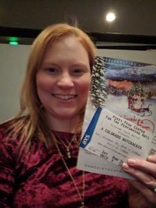Marie attended A Colorado Nutcracker Performed by Colorado Ballet Society - Saturday Matinee on Dec 22nd 2018 via VetTix