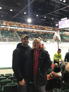 Cassadee attended Michigan State Spartans vs. US Development Team - NCAA Hockey on Dec 15th 2018 via VetTix