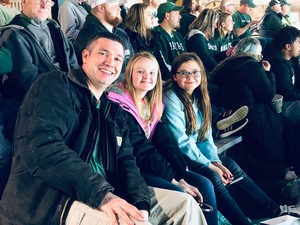 Chad attended Michigan State Spartans vs. US Development Team - NCAA Hockey on Dec 15th 2018 via VetTix