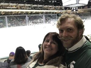 Jeff attended Michigan State Spartans vs. US Development Team - NCAA Hockey on Dec 15th 2018 via VetTix