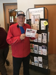 Larry attended A Chorale Christmas on Dec 16th 2018 via VetTix