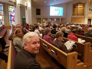 Jeffery attended A Chorale Christmas on Dec 16th 2018 via VetTix