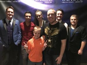 Luke attended Champions of Magic on Dec 7th 2018 via VetTix