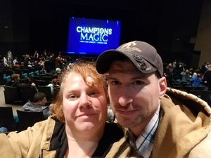 Brandon attended Champions of Magic on Dec 7th 2018 via VetTix