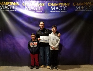 RONY attended Champions of Magic on Dec 7th 2018 via VetTix
