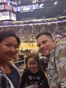 Austin attended Phoenix Suns vs. Sacramento Kings - NBA on Dec 4th 2018 via VetTix