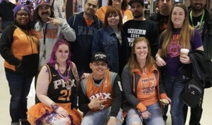 kimberly attended Phoenix Suns vs. Sacramento Kings - NBA on Dec 4th 2018 via VetTix
