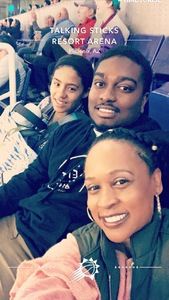 DaSean attended Phoenix Suns vs. Sacramento Kings - NBA on Dec 4th 2018 via VetTix