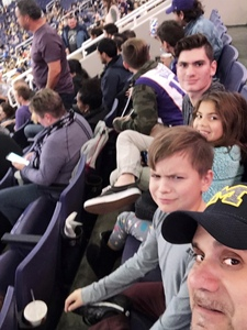 Richard J. attended Phoenix Suns vs. Sacramento Kings - NBA on Dec 4th 2018 via VetTix