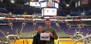 Carlos attended Phoenix Suns vs. Sacramento Kings - NBA on Dec 4th 2018 via VetTix