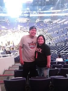Jasper attended Phoenix Suns vs. Sacramento Kings - NBA on Dec 4th 2018 via VetTix