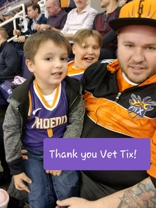 Scott attended Phoenix Suns vs. Sacramento Kings - NBA on Dec 4th 2018 via VetTix