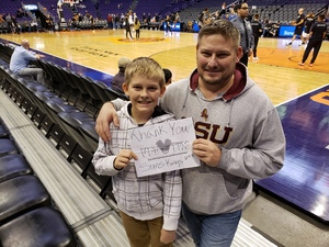 Jack Clark attended Phoenix Suns vs. Sacramento Kings - NBA on Dec 4th 2018 via VetTix