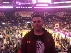 Garret attended Phoenix Suns vs. Sacramento Kings - NBA on Dec 4th 2018 via VetTix
