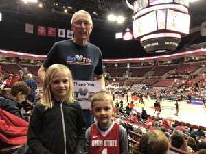 Click To Read More Feedback from Ohio State Buckeyes vs. Rutgers Scarlet Knights - NCAA Women's Basketball