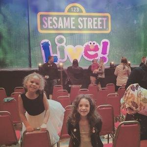 Erica attended Sesame Street Live! Make Your Magic on Jan 10th 2019 via VetTix