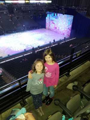 Christopher attended Disney on Ice Presents: Worlds of Enchantment on Mar 14th 2019 via VetTix